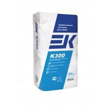 Универсальная гипсовая шпатлевка ЕК К300 белая 20 кг
