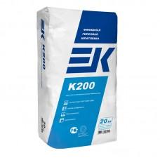 Универсальная гипсовая шпатлевка ЕК К200 белая 20кг