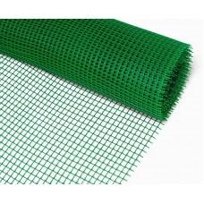 Сетка пластиковая, ячейка 10х10 мм, ширина 1м