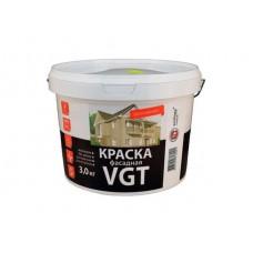 Краска фасадная ВД-АК-1180 VGT белоснежная ведро 3 кг
