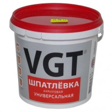 Шпатлевка ВГТ универсальная акриловая 7,5 кг